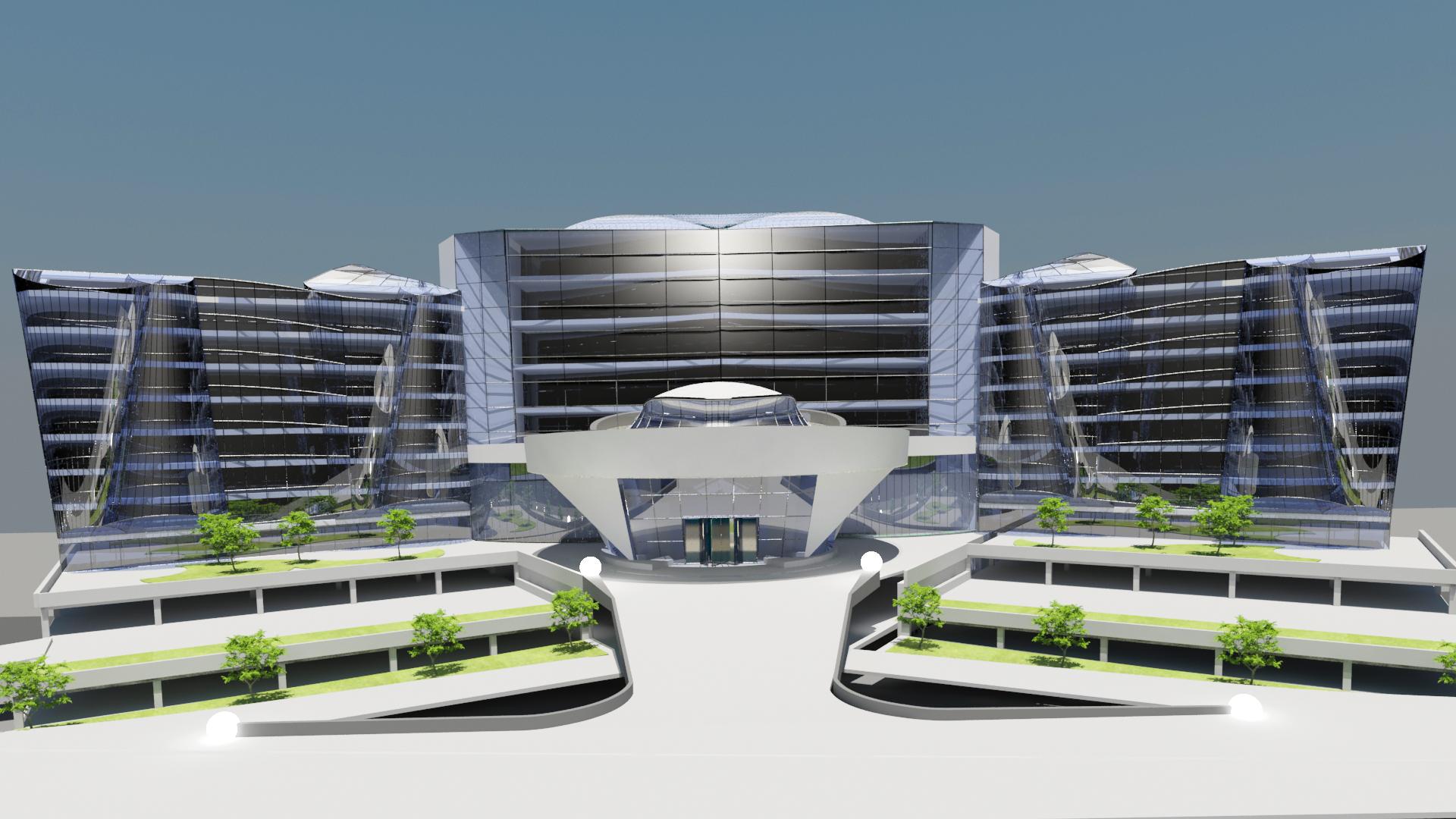 Architectural design of business hotel spain est for Hotel decor original