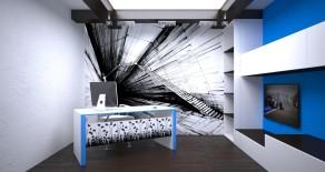 Workroom in home design