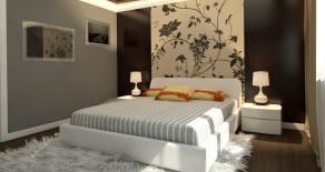 Modern bedroom rooms in Yerevan